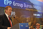 11-5-2017: Taoiseach Enda Kenny at the EPP Group conference with Manfred Weber, Chairman, EPP Group, and Sean Kelly, MEP, at Druids Glen on Thursday morning.<br /> Photo Don MacMonagle<br /> <br /> repro free from eppgroup <br /> <br /> epp group conference wicklow ireland 11-5-2017<br /> Photo by macmonagle.com <br /> <br /> <br /> EPP Group Conference Wicklow, Ireland May 2017.<br /> Photos by macmonagle.com