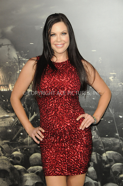 WWW.ACEPIXS.COM . . . . .  ....August 11 2011, LA....Christa Campbell arriving at the premiere 'Conan The Barbarian' on August 11, 2011 in Los Angeles, California....Please byline: PETER WEST - ACE PICTURES.... *** ***..Ace Pictures, Inc:  ..Philip Vaughan (212) 243-8787 or (646) 679 0430..e-mail: info@acepixs.com..web: http://www.acepixs.com