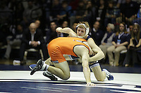 STATE COLLEGE, PA -DECEMBER 19: Cody Law of the Penn State Nittany Lions during a match against David Wesley of the Virginia Tech Hokies on December 19, 2014 at Recreation Hall on the campus of Penn State University in State College, Pennsylvania. Penn State won 20-15. (Photo by Hunter Martin/Getty Images) *** Local Caption *** Cody Law;David Wesley