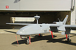 Israeli made Heron UAV at Palmachim Air Force base, the drone produced by Israel Aerospace Industries (IAI) is a Medium Altitude Long Endurance (MALE) UAV for strategic and tactical missions