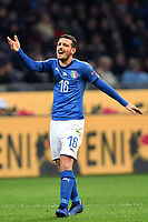 Alessandro Florenzi of Italy reacts during the Nations League League A group 3 football match between Italy and Portugal at stadio Giuseppe Meazza, Milano, November, 17, 2018 <br /> Foto Andrea Staccioli / Insidefoto