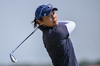 Tiffany Joh (USA) watches her tee shot on 11 during the round 2 of the Volunteers of America Texas Classic, the Old American Golf Club, The Colony, Texas, USA. 10/4/2019.<br /> Picture: Golffile | Ken Murray<br /> <br /> <br /> All photo usage must carry mandatory copyright credit (© Golffile | Ken Murray)
