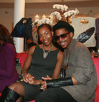 Vintage Jewelry Designs Camille Worrell and Steven Styles attend an exclusive elegant evening of fashion and design through Shop for a Cause highlighting art and fashion from local emerging Haitian artisans Hosted by Designer, Tracy Reese, JRT Multimedia, CEO Jocelyn Taylor and BACARDI USA at the Tracy Reese Flagship Store 1/26/11<br />