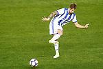 Real Sociedad's Inigo Martinez during La Liga match. April 4,2017. (ALTERPHOTOS/Acero)