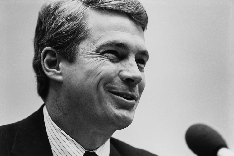 Rep. Dave McCurdy, D-Okla. in Feb., 1993. (Photo by Laura Patterson/CQ Roll Call)
