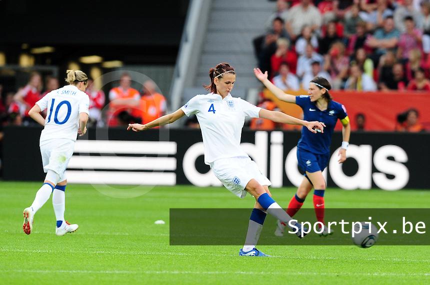 Fifa Women's World Cup Germany 2011 : England - France - at Leverkusen : Jill Scott.foto DAVID CATRY / Vrouwenteam.be