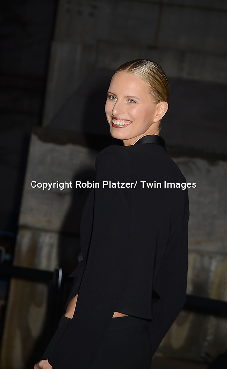Karolina Karkova attends the Vanity Fair Party for the 2013 Tribeca Film Festival on April 16, 2013 at State Suprme Courthouse in New York City.