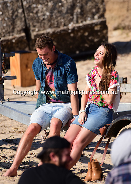 6 September 2016 SYDNEY AUSTRALIA<br /> WWW.MATRIXPICTURES.COM.AU<br /> <br /> EXCLUSIVE PICTURES<br /> Home &amp; Away filming at Palm Beach with Phillipa Northeast, Scott Lee  and  Alec Snow .<br /> <br /> *No internet without clearance*.<br /> <br /> MUST CALL PRIOR TO USE <br /> <br /> +61 2 9211-1088. <br /> <br /> Matrix Media Group.Note: All editorial images subject to the following: For editorial use only. Additional clearance required for commercial, wireless, internet or promotional use.Images may not be altered or modified. Matrix Media Group makes no representations or warranties regarding names, trademarks or logos appearing in the images.