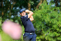 Matt Wallace (ENG) on the 2nd tee during the 2nd round at the WGC HSBC Champions 2018, Sheshan Golf CLub, Shanghai, China. 26/10/2018.<br /> Picture Fran Caffrey / Golffile.ie<br /> <br /> All photo usage must carry mandatory copyright credit (&copy; Golffile | Fran Caffrey)