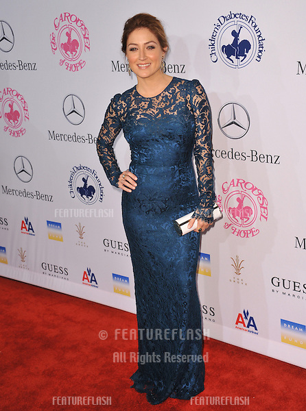 Sasha Alexander at the 26th Carousel of Hope Gala at the Beverly Hilton Hotel..October 20, 2012  Beverly Hills, CA.Picture: Paul Smith / Featureflash