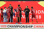 Qatar vs South Korea during the AFC U23 Championship China 2018 3rd/4th Place match at Kunshan Sports Center on 26 January 2018, in Kunshan, China. Photo by Marcio Rodrigo Machado / Power Sport Images