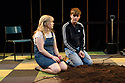 Farnham Maltings, in association with the Orange Tree Theatre, presents JESS AND JOE FOREVER, at the Traverse Theatre, as part of the Edinburgh Festival Fringe. Picture shows: Nicola Coughlan (Jess), Rhys Isaac-Jones (Joe).