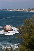 Europe/France/Aquitaine/64/Pyrénées-Atlantiques/Pays-Basque/Hendaye: Domaine d'Abbadia - le littoral