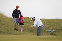 Lucas Bjerregaard (DEN) on the 6th fairway during Round 2 of the Irish Open at LaHinch Golf Club, LaHinch, Co. Clare on Friday 5th July 2019.<br /> Picture:  Thos Caffrey / Golffile<br /> <br /> All photos usage must carry mandatory copyright credit (© Golffile | Thos Caffrey)