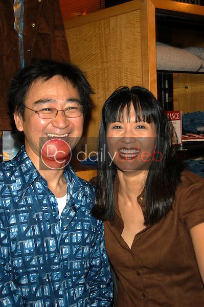 Getty Watanabe and Suzanne Wong