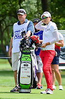 Jeong Eun Lee (KOR) looks over her tee shot on 17 during Thursday's round 1 of the 2017 KPMG Women's PGA Championship, at Olympia Fields Country Club, Olympia Fields, Illinois. 6/29/2017.<br /> Picture: Golffile | Ken Murray<br /> <br /> <br /> All photo usage must carry mandatory copyright credit (&copy; Golffile | Ken Murray)