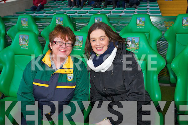 Pictured at the Munster Intermediate Semi Final on Sunday were l-r: Anne-Marie O'Sullivan (Finuge, Joint Secretary) and Bridget Liston (Finuge, Joint Secretary).