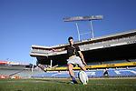 Dan Carter. All Blacks kickers session, Eden Park, Auckland. July 18 2007.