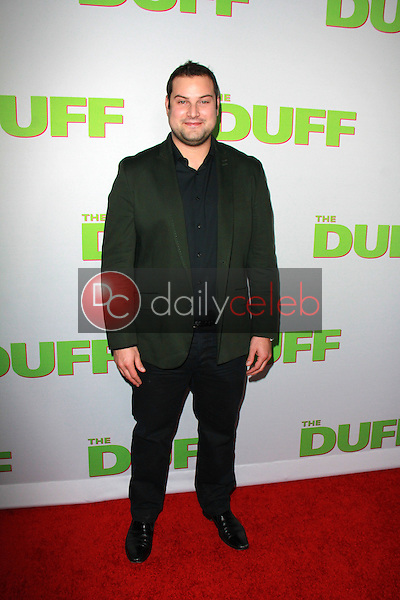 Max Adler<br /> at &quot;The Duff&quot; Los Angeles Premiere, Chinese 6, Hollywood, CA 02-12-15<br /> David Edwards/DailyCeleb.com 818-249-4998