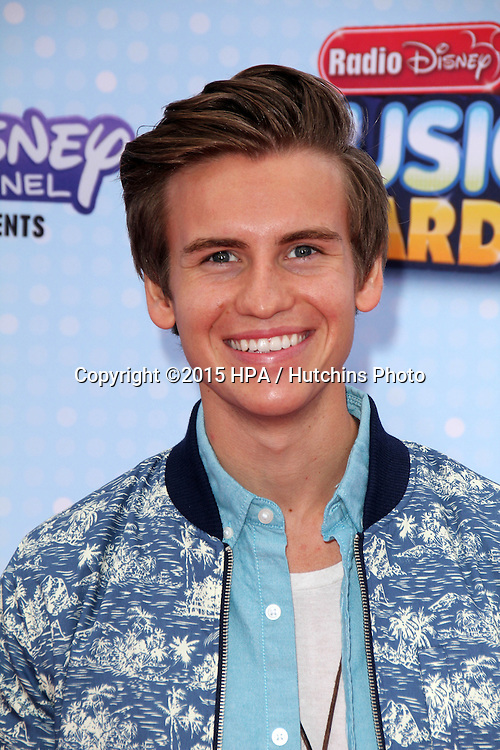 LOS ANGELES - FEB 25:  Josh Tryhane at the Radio DIsney Music Awards 2015 at the Nokia Theater on April 25, 2015 in Los Angeles, CA