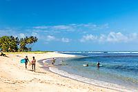 A small little known Hawaiian Beach on the island of Kauai