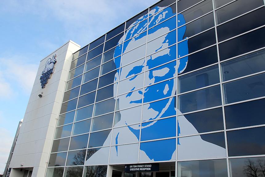 Preston North End Deepdale Stadium<br /> <br /> Photographer Mick Walker/CameraSport<br /> <br /> Football - The Football League Sky Bet League One - Preston North End v Coventry City - Saturday 7th February 2015 - Deepdale - Preston<br /> <br /> &copy; CameraSport - 43 Linden Ave. Countesthorpe. Leicester. England. LE8 5PG - Tel: +44 (0) 116 277 4147 - admin@camerasport.com - www.camerasport.com