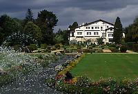 Europe/France/Aquitaine/64/Pyrénées-Atlantiques/Cambo-les-Bains: La villa Arnaga, demeure de F. Rostand - Les jardins