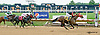 Breezy Girl winning at Delaware Park racetrack on 7/14/14