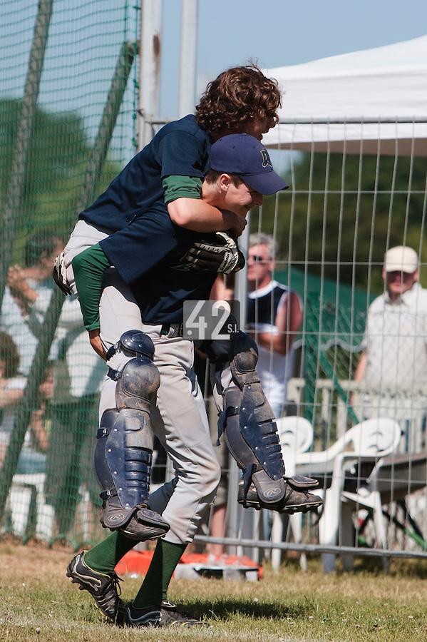 04 July 2010: Dragons Ronchin, little league, championnat Cadets, Ronchin, France.