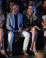 MIAMI, FL - JUNE 01: Nicole Kimpel, Antonio Banderas seen at the Glory Ang Runway Show during Miami Fashion Week at the Ice Palace Studios on June 1, 2019 in Miami Florida. <br /> CAP/MPI04<br /> ©MPI04/Capital Pictures