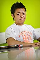 Photos for Kingston University  London international student brochures and prospectuses.??Profile portrait of Kelvin Young (Canada/China).??Date Taken: 19/04/10??Location: ??Contact:??Commissioned by:  Kingston University - Emma Carlino?Emma Carlino.International Marketing Communications Manager.International Centre.Kingston University London.Swan Wing, River House.53-57 High Street.Kingston upon Thames.London.KT1 1LQ.UK.Tel: +44(0)20 8417 3006.Fax: +44(0)20 8417 3028.Email: e.carlino@kingston.ac.uk.Website: www.kingston.ac.uk/international