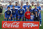 Getafe's team photo during La Liga Match. March 03, 2012. (ALTERPHOTOS/Alvaro Hernandez)