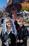 Bailey, Twila and Justin during Pumpkin Palooza in Sparks, Nevada on Sunday, Oct. 22, 2017.