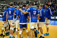 GRONINGEN - Volleybal, Lycurgus - Taurus, Supercup, seizoen 2018-2019, 29-09-2018,  vreugde na de zege bij Lycurgus