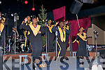 CONCERT: The world famous Harlem Gospel Choir during their concert in Dingle on Friday night.   Copyright Kerry's Eye 2008
