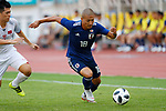 Daizen Maeda (JPN), <br /> AUGUST 19, 2018 - Football / Soccer : <br /> Men's Group D match <br /> between Japan 0-1 Vietnam <br /> at Wibawa Mukti Stadium <br /> during the 2018 Jakarta Palembang Asian Games <br /> in Cikarang, Indonesia. <br /> (Photo by Naoki Morita/AFLO SPORT)