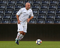 Andy Robinson during the Alan Tate Testimonial Match, Swansea City Legends v Manchester United Legends at the Liberty Stadium, Swansea, Wales, UK
