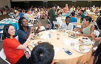 Senior Brunch and Class Day, May 16, 2014 in Rush Gym. (Photo by Marc Campos, Occidental College Photographer)