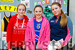 Aoife Moynihan, Mary Angela Lynch and Saoirse O'Brien Brown, pictured at Mercy Mounthawk Open Day, Tralee, on Saturday last.