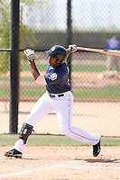 Cedric Hunter, San Diego Padres 2010 minor league spring training..Photo by:  Bill Mitchell/Four Seam Images.