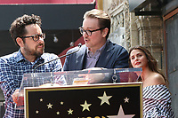 LOS ANGELES - MAY 30:  JJ Abrams, Matt Reeves, Keri Russell at the Keri Russell Honored With a Star Ceremony on the Hollywood Walk of Fame on May 30, 2017 in Los Angeles, CA