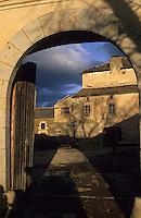 Europe/France/Languedoc-Roussillon/66/Pyrénées -Orientales/Cerdagne/Sainte-Léocardie : Ferme-musée de Cal Mateu