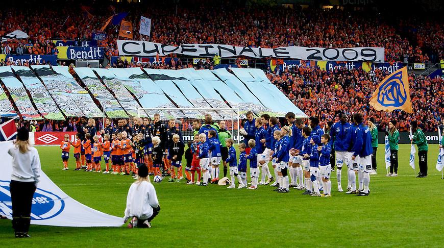 Oslo, 20091108. Cupfinalen