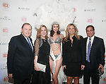 John Calicchio, Denise Lefrak-Calicchio, Caesars Entertainment Model Ashley Scott, Jennifer Bandier and Neil Boyarsky Attend The Association of Community Employment Programs for the Homeless Presents Viva Las Veg-ACE! held at the Waldorf Astoria (Starlight Roof), NY  5/19/11