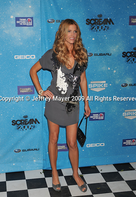 LOS ANGELES, CA. - October 17: Tricia Helfer arrives at Spike TV's Scream 2009 held at the Greek Theatre on October 17, 2009 in Los Angeles, California.