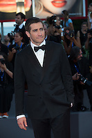 Jake Gyllenhaal at the premiere of Nocturnal Animals at the 2016 Venice Film Festival.<br /> September 2, 2016 Venice, Italy<br /> Picture: Kristina Afanasyeva / Featureflash