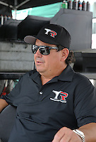 May 10, 2013; Commerce, GA, USA: NHRA top fuel dragster team owner Billy Torrence during qualifying for the Southern Nationals at Atlanta Dragway. Mandatory Credit: Mark J. Rebilas-