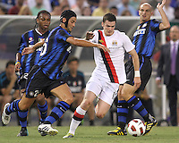 Inter Milan vs Manchester City July 31 2010