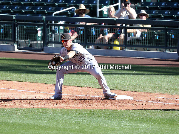 Brian Mundell - Salt River Rafters - 2017 Arizona Fall League (Bill Mitchell)