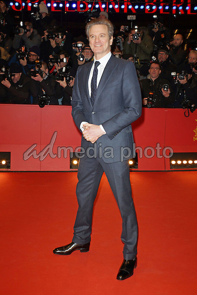 Colin Firth at the Premiere of 'Genius' at Berlinale Palast, Internationale Filmfestspiele Berlin, 66. Berlinale, 16.02.2016 in Berlin.<br /> Credit: Nicole Kubelka/face to facePhoto Credit: Nicole Kubelka/face to face/AdMedia